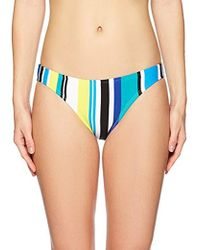 Nautica - Coastline Stripe Core Bikini Bottom - Lyst