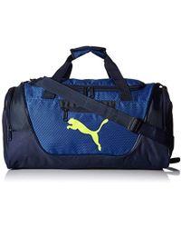 f2c8add1db Lyst - PUMA Arsenal Evospeed Medium Duffel Bag in Black for Men