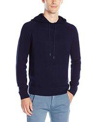 Calvin Klein - Cotton Modal Textured Hoodie Sweater - Lyst