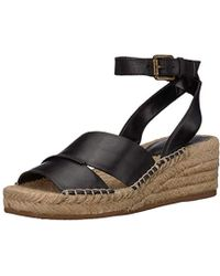 da4783246677 Nine West - Edwisha Leather Wedge Sandal - Lyst