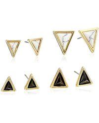 House of Harlow 1960 - Meteora Set Stud Earrings - Lyst