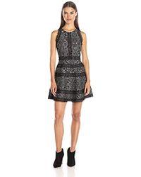 495c5731cc3f Lyst - Cinq À Sept Garnet Off-the-shoulder Dress in Black