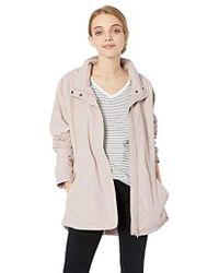 O'neill Sportswear - Gale Rain Jacket With Drawstring Waist - Lyst