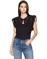 Laundry by Shelli Segal - Pleated Ruffle Vest - Lyst