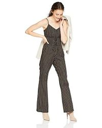 882de21dee01 Cupcakes And Cashmere - Jaiden Striped Corset Jumpsuit - Lyst