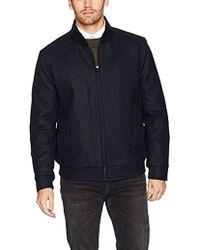 Marc New York - Barlow Melton Wool Bomber Jacket - Lyst