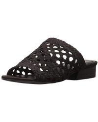 f842ffae9279 Lyst - Eileen Fisher Aloe Woven Nubuck Slip-on Sandals