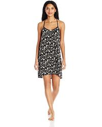 Juicy Couture - Black Label Lacey Back Chemise, - Lyst