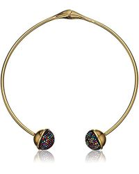 """Trina Turk - """"confetti And Cocktails Multi Color Pave Ball Pendant Necklace - Lyst"""