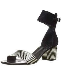 1092c412afe Lyst - Bernardo Hayden Ankle Strap Sandal in Natural