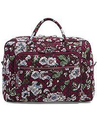 Vera Bradley - Iconic Grand Weekender Travel Bag, Signature Cotton - Lyst