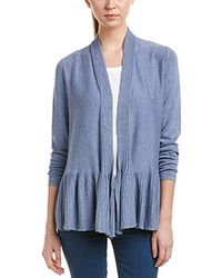 Max Studio - Max Studio Long Sleeve Open Cardigan, - Lyst