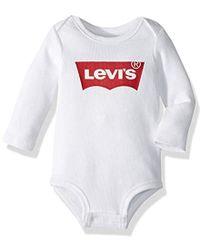 Levi's - Long Sleeve Graphic Bodysuit - Lyst