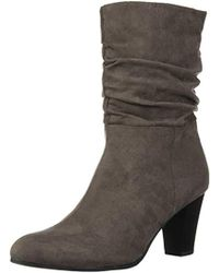 67cb7adf743c0 Lyst - Circus by Sam Edelman Raylan Mid-length Boot in Blue
