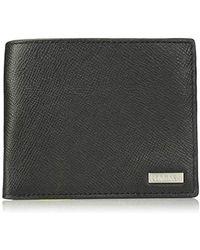 Calvin Klein - Textured Leather Slimfold Wallet - Lyst