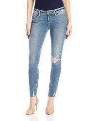 PAIGE - Verdugo Ultra Skinny Jeans-pryor Destructed - Lyst