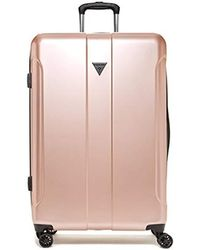 """Guess - Lustre 2 Collection 28"""" 8-wheeled Spinner In Rose Gold - Lyst"""