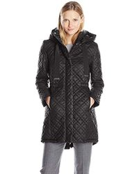 T Tahari - Marykate Quilted Anorak Jacket - Lyst