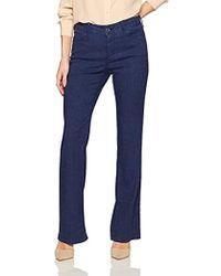NYDJ - Wylie Trousers In Stretch Linen - Lyst