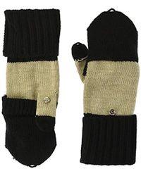 Calvin Klein - Colorblock Flip Top Glove - Lyst