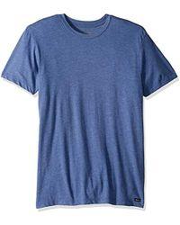 RVCA - Solo Label Short Sleeve T-shirt - Lyst