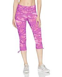 Jockey - Texture Weave Print Capri - Lyst