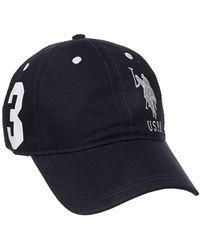 U.S. POLO ASSN. - Number 3 Baseball Cap, Curved Brim, Adjustable - Lyst