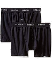 Ben Sherman - 2 Pack Harry Button-fly Boxer Brief - Lyst