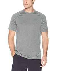 bcd2d402 Lyst - Champion Short Sleeve 4.1 Oz Double Dry Muscle Shirt With ...