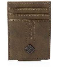 Columbia - Rfid Security Blocking Slim Front Pocket Wallet - Lyst