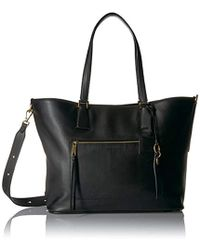 26d6b1d413 Lyst - Cole Haan Abbot Perforated Leather Tote