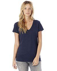Alternative Apparel - Everyday Short-sleeve V-neck T-shirt - Lyst
