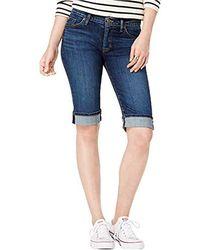 Hudson Jeans - Amelia Cuffed Knee Short - Lyst