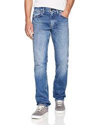 Hudson Jeans - Byron Straight Leg Zip Fly Jeans - Lyst