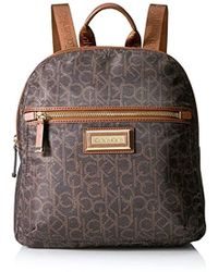 61f9f1f63def MICHAEL Michael Kors Backpack Jet Set Item Checkerboard Logo in ...