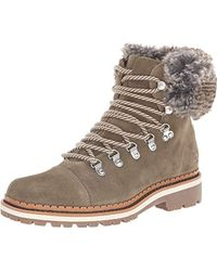 2d15c4140 Lyst - Sam Edelman Bowen Hiking Boots in Brown