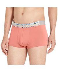 42afb96a99d0 Calvin Klein Men's Underwear, Steel Micro Low Rise Trunk U2716 in Blue for  Men - Lyst