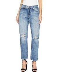Hudson Jeans - Jessi Relaxed Cropped Boyfriend 5 Pocket - Lyst