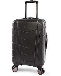 """Perry Ellis - Tanner 21"""" Hardside Carry-on Spinner Luggage - Lyst"""