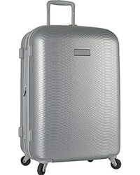 "Anne Klein - 20"" Hardside Carry On Spinner Luggage, Silver - Lyst"