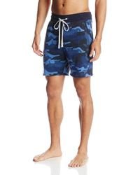 Kenneth Cole Reaction - Kamo French Terry Sleep Short - Lyst