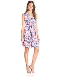 NYDJ - Lana Flare Dress With Detachable Fit Solution - Lyst