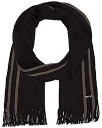 BOSS - Fador Knitted Scarf, - Lyst