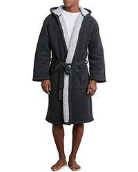 Kenneth Cole - Fleece Lined Robe - Lyst