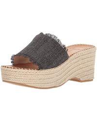 83b99e5b9de Lyst - Dolce Vita Pim (black Elastic) Women s Shoes in Black