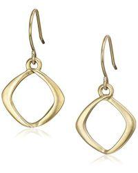 Kenneth Cole - Gold-tone Drop Earrings - Lyst