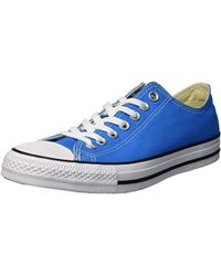 98959217069f Lyst - Converse Chuck Taylor All Star Seasonal Colors Ox in Blue for Men