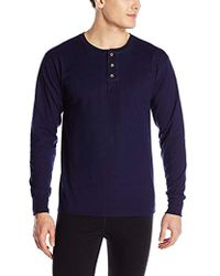 7c505ba4 Hanes Beefy Long Sleeve Shirt in Black for Men - Lyst