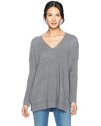 French Connection - Babysoft Long Sleeve Soft Solid Pullover Sweater - Lyst