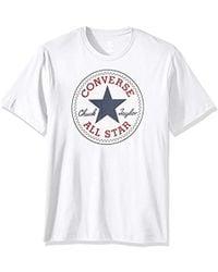 60600698925f78 Converse - Chuck Patch Short Sleeve T-shirt - Lyst